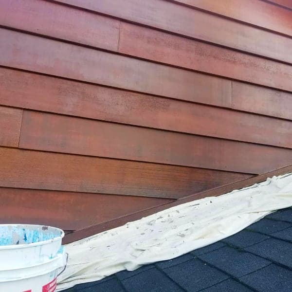 cedar siding finishing