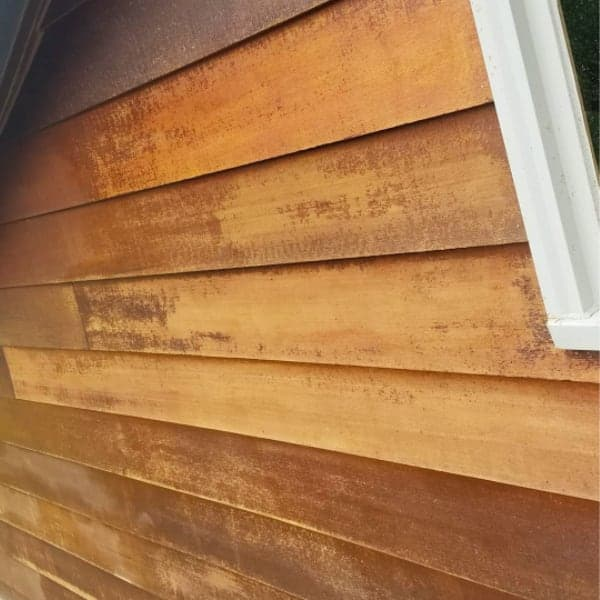 damaged cedar siding