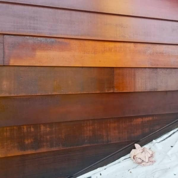 repair cedar siding