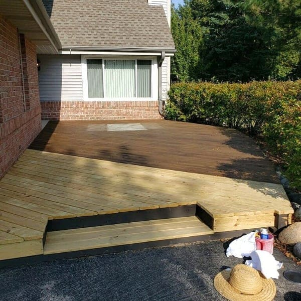 deck refinish new berlin